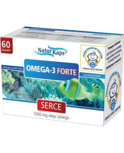 Naturkaps Omega-3 Forte 60 kapsułek