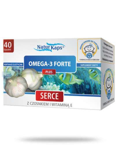 Naturkaps Omega-3 Forte Plus 40 kapułek