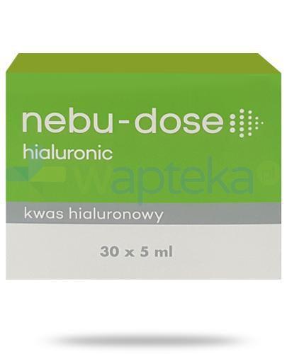 Nebu-Dose hialuronic kwas hialuronowy do inhalacji ampułki 30x5 ml