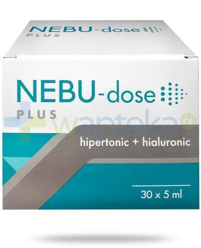 Nebu-Dose Plus 3% roztwór soli z kwasaem hialuronowym, ampułki 30x 5 ml