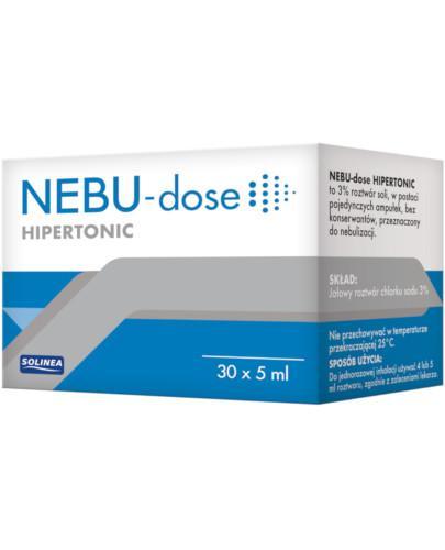 Nebu-Dose roztwór hipertoniczny do inhalacji 30 ampułek