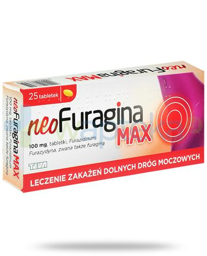 NeoFuragina Max 100mg 25 tabletek
