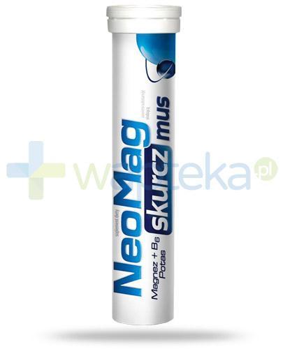 NeoMag Skurcz Mus 20 tabletek musujących