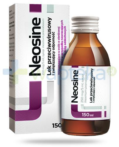 Neosine 250mg/5ml syrop 150 ml