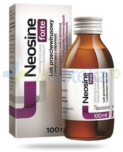 Neosine Forte 500mg/5ml syrop 100 ml