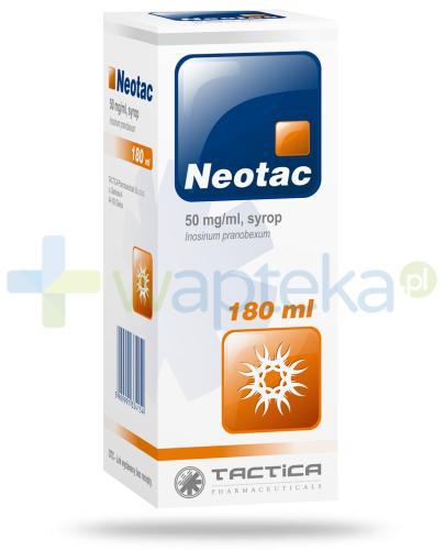 Neotac Inosinum pranobexum 50 mg/1 ml syrop 180 ml