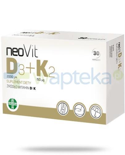 NeoVit D3 + K2 30 kapsułek