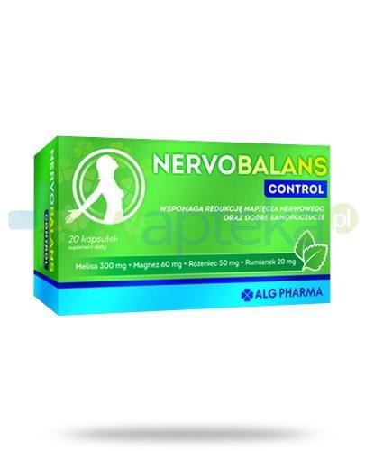 Alg Pharma NervoBalans Control 20 kapsułek