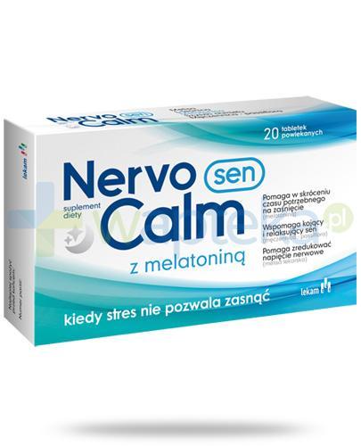 NervoCalm Sen z melatoniną 20 tabletek powlekanych