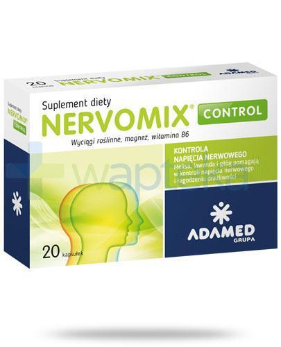 Nervomix Control 20 kapsułek [Data ważności 31-07-2018]