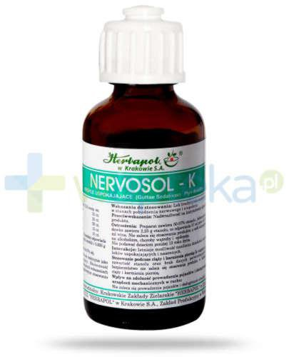 Nervosol K płyn doustny 35 ml