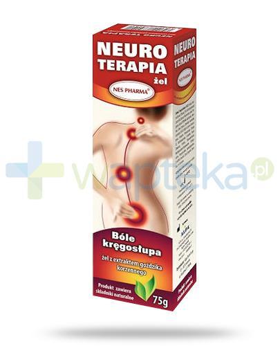 Nes Pharma Neuro Terapia krem z ekstraktem z goździka korzennego na bóle kręgosłupa 75 g