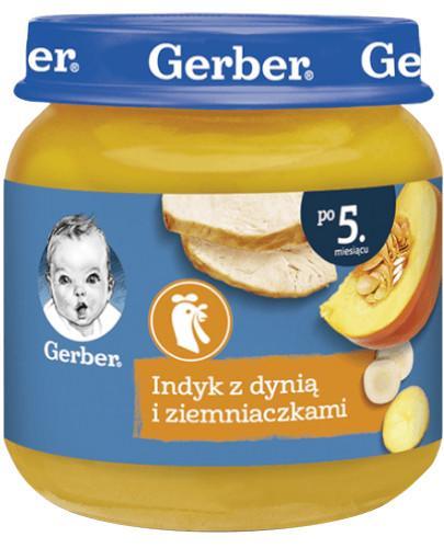 Nestlé Gerber Indyk z dynią i ziemniaczkami po 5 miesiącu 125 g