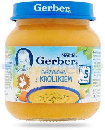 Nestlé Gerber Jarzynowa z królikiem po 5 miesiącu 125 g
