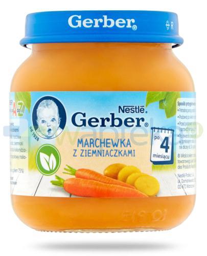 Nestlé Gerber Marchewka z ziemniaczkami po 4 miesiącu 125 g