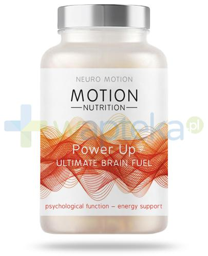 Neuro Motion Power Up nootropik na dzień 60 kapsułek