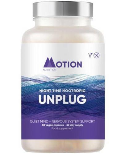 Neuro Motion Unplug nootropik na noc 60 kapsułek