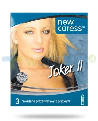 New Caress Joker II prezeratywy 3 sztuki
