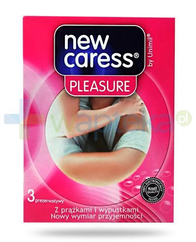 New Caress Pleasure prezerwatywy 3 sztuki
