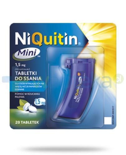 NiQuitin Mini 1,5mg 20 tabletek do ssania