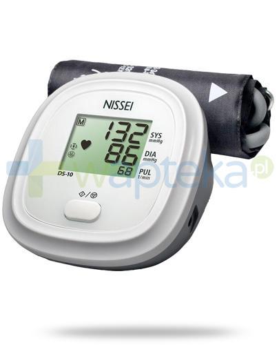 Nissei DS-10 ciśnieniomierz automatyczny naramienny bez zasilacza 1 sztuka