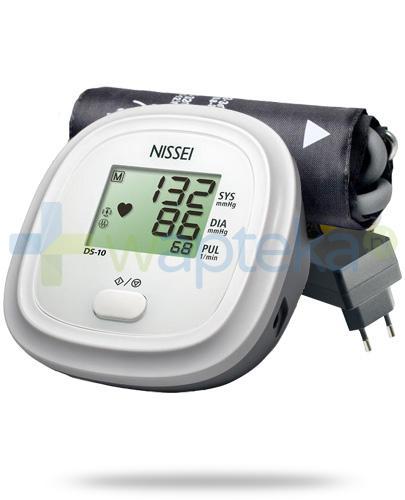 Nissei DS-11a ciśnieniomierz automatyczny naramienny z zasilaczem 1 sztuka