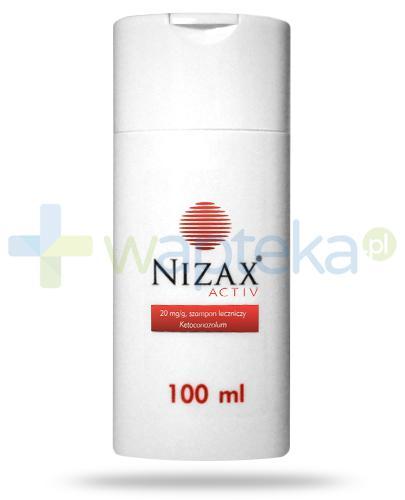 Nizax Activ, Ketoconazolum 20mg/g, szampon 100 ml