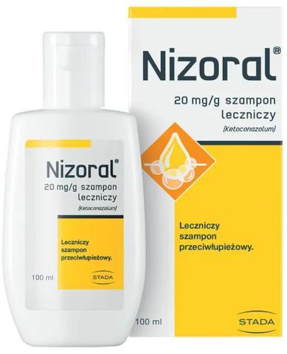 Nizoral 20 mg/g szampon przeciwłupieżowy 100 ml