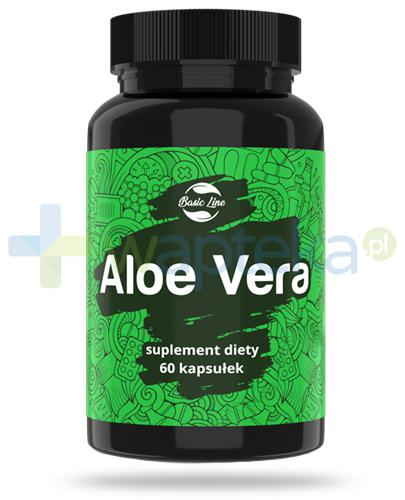 Noble Health Aloe Vera ekstrakt z liści aloesu 60 kapsułek