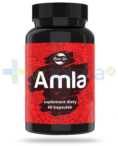 Noble Health Amla ekstrakt z owoców agretu indyjskiego 60 kapsułek