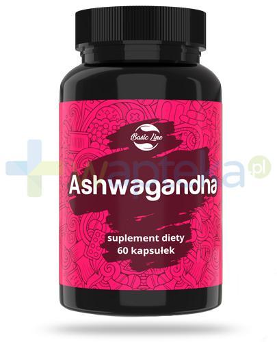 Noble Health Ashwagandha ekstrakt z korzenia ashwagandha 60 kapsułek