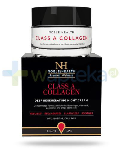 Noble Health Class A Collagen krem głęboko regenerujący na noc 50 ml