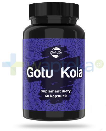 Noble Health Gotu Kola ekstrakt z ziela wąkroty azjatyckiej 60 kapsułek