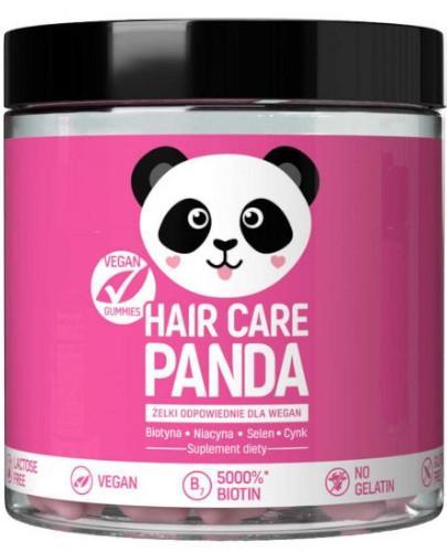 Noble Health Hair Care Panda witaminy na włosy w żelkach 300 g + travel pack 70g [GRATIS]