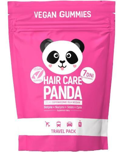 Noble Health Hair Care Panda witaminy na włosy w żelkach 70 g