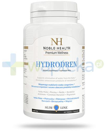 Noble Health Hydrodren 60 tabletek + masażer [GRATIS]