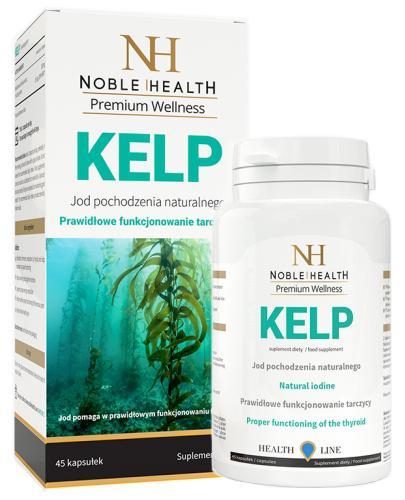 Noble Health Kelp jod pochodzenia naturalnego 45 kapsułek