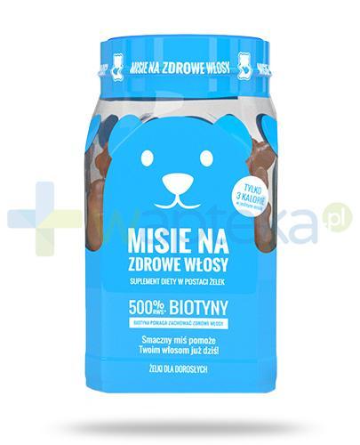 Noble Health Misie witaminy na włosy w formie żelek 300 g