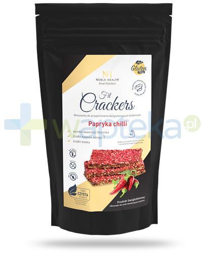 Noble Health Smart Nutrition bezglutenowe krakersy z papryką chilli 250 g [Data ważności 27-09-2018]