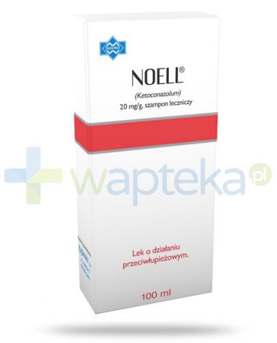 Noell 20 mg/g szampon leczniczy przeciwłupieżowy 100 ml