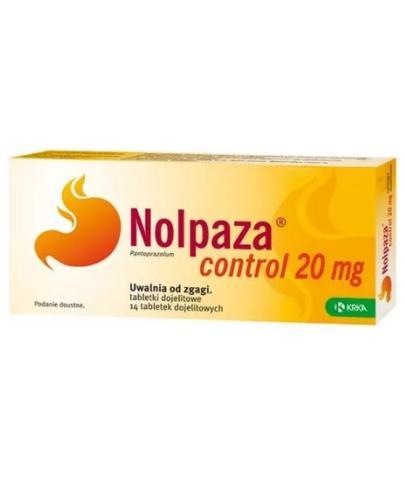 Nolpaza control 0,02g 14 tabletek