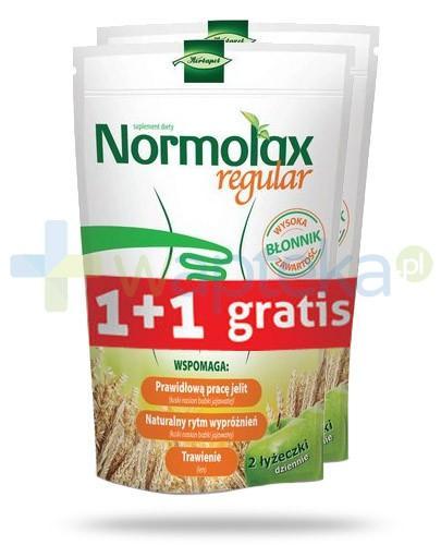 Normolax Regular proszek o smaku jabłkowym 100 g + 100 g