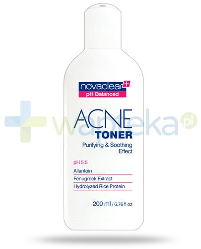 NovaClear Acne Toner oczyszczający i łagodzący tonik do twarzy 200 ml