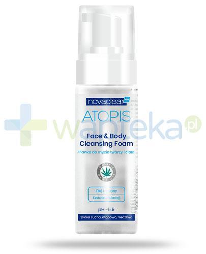 NovaClear Atopis Face&Body Cleansing Foam pianka do mycia twarzy i ciała 150 ml