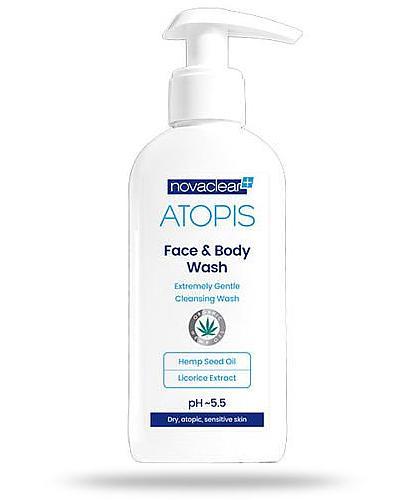 NovaClear Atopis Face&Body Wash płyn do mycia twarzy i ciała 500 ml