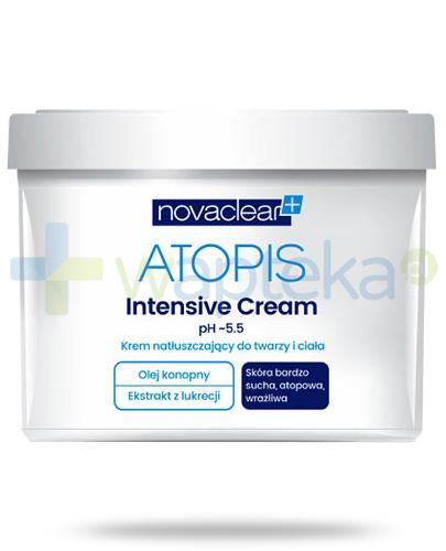 NovaClear Atopis Intensive Cream krem natłuszczający do twarzy i ciała 500 ml