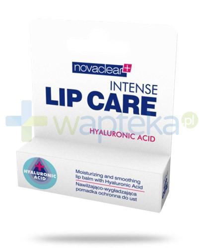 NovaClear Intense Lip Care pomadka nawilżająco wygładzająca ochronna do ust 4,9 g