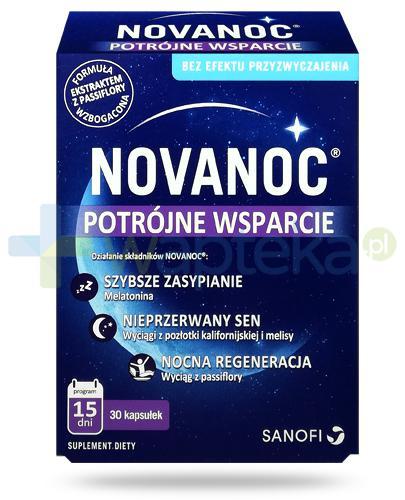 NovaNoc potrójne wsparcie 30 kapsułek