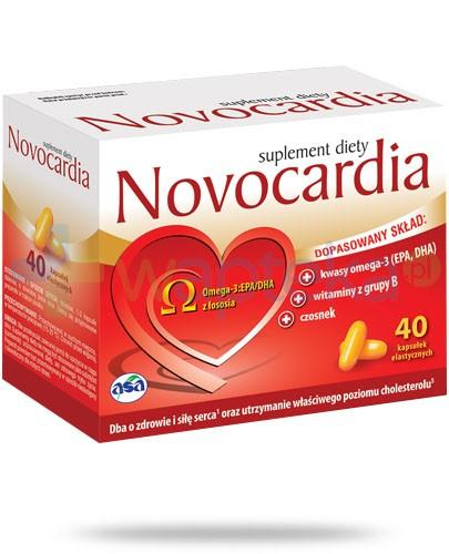 Novocardia 40 kapsułek