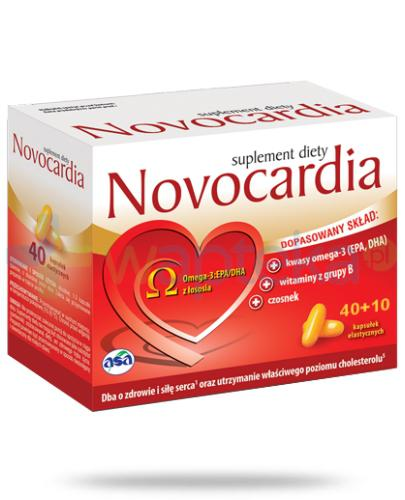 Novocardia 50 kapsułek